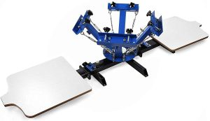 Shzond Screen Printing Press 4 Color 2 Station